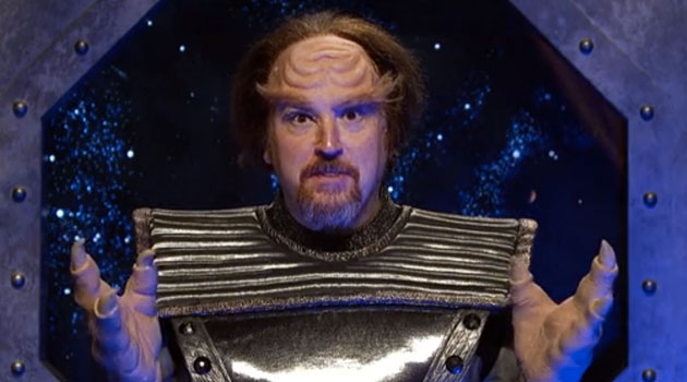 WATCH: Louis C.K. Plays A Klingon In Deleted 'SNL' Sketch