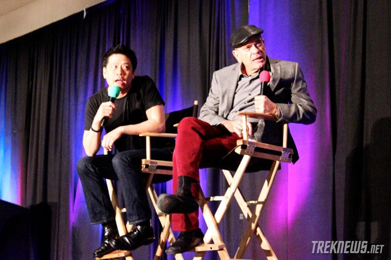Garrett Wang and Robert Picardo
