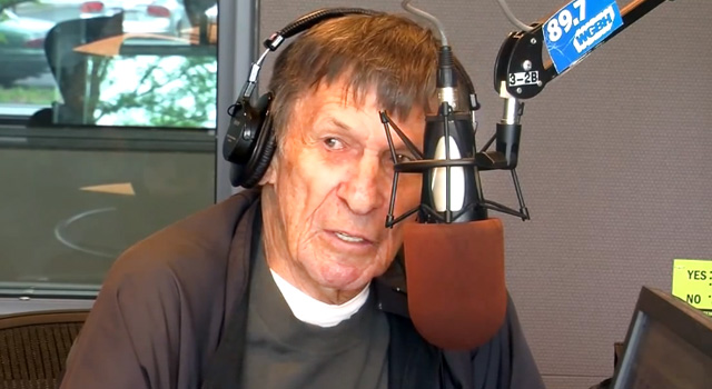 WATCH: Leonard Nimoy On Growing Up In Boston and Spock