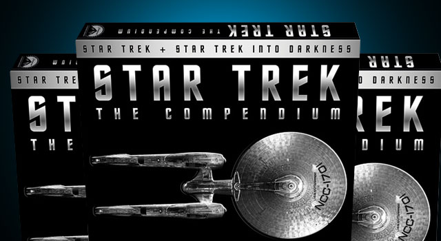 'Star Trek: The Compendium' To Include 'Star Trek' (2009), 'Into Darkness' and Tons of Bonus Features