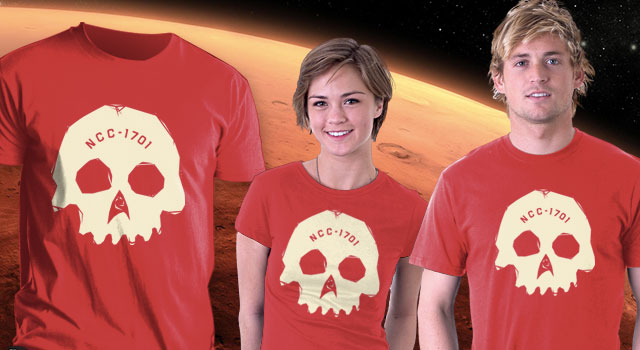 "Win A ""Red Shirt"" From TeeFury and TrekNews.net"