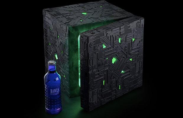 Objetos curiosos de STAR TREK Borg-cube-fridge