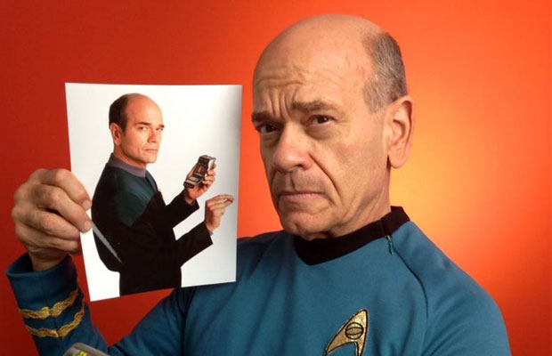 Robert Picardo In TOS Cosplay