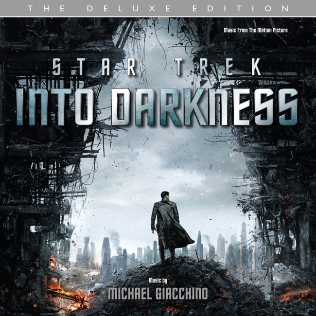 Cover art for Michael Giacchino's expanded 'Star Trek Into Darkness' soundtrack