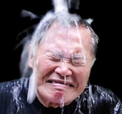 "George Takei Takes The ""Ice-Bucket Challenge"""