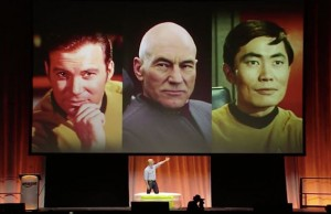 "Amazon CEO Challenges Shatner, Stewart, Takei To ""Ice-Bucket Challenge"""
