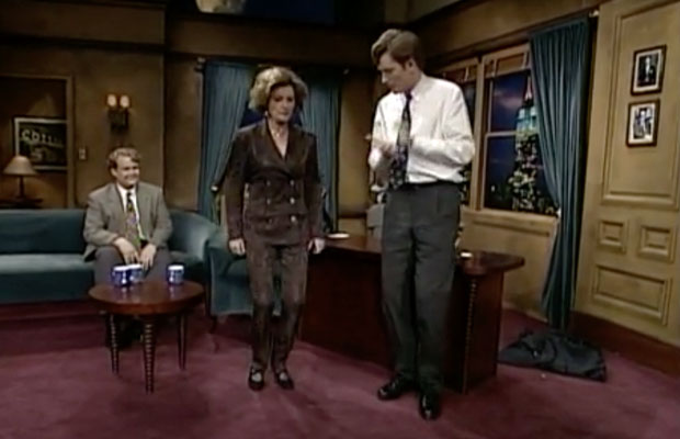 Kate Mulgrew on 'Late Night With Conan O'Brien' in the 90s