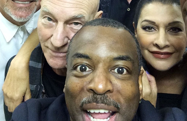 LeVar Burton's Ultimate Star Trek Selfie