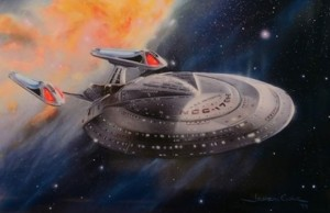 Enterprise-E Lithograph Coming Soon From Lightspeed