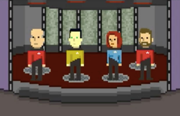 'Star Trek Trexels' Updated With TNG Content , Price Dropped To Free