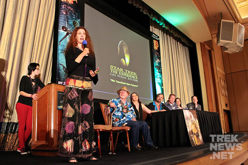 Suzie Plakson opens the Star Trek: The Experience