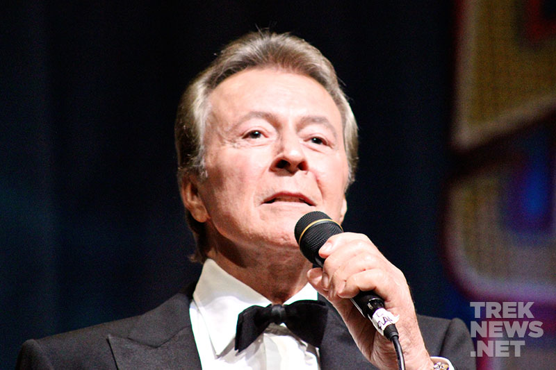 "James Darren sings ""Come Fly With Me"""