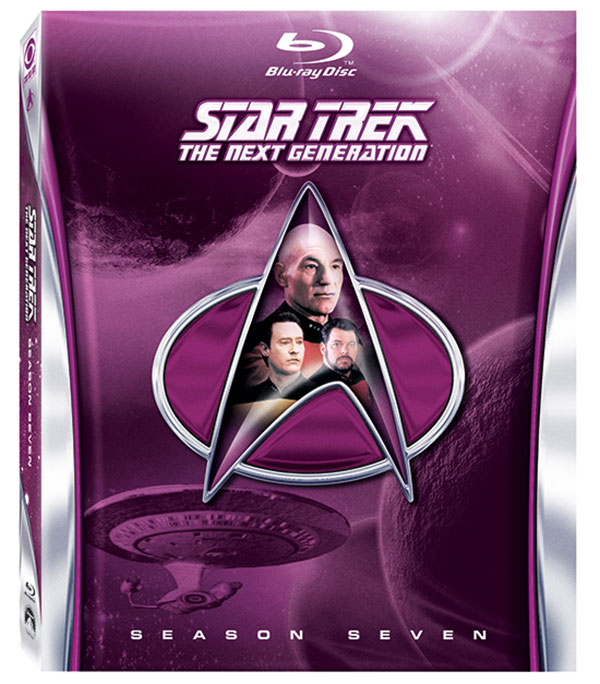 Star Trek: The Next Generation - Season Seven on Blu-ray