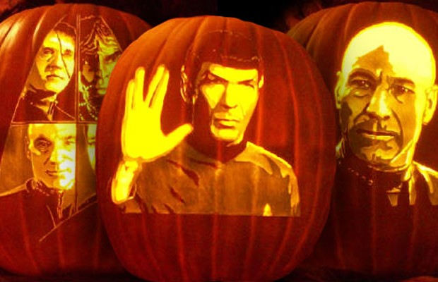 Check Out These Amazing Star Trek Jack-O-Lanterns