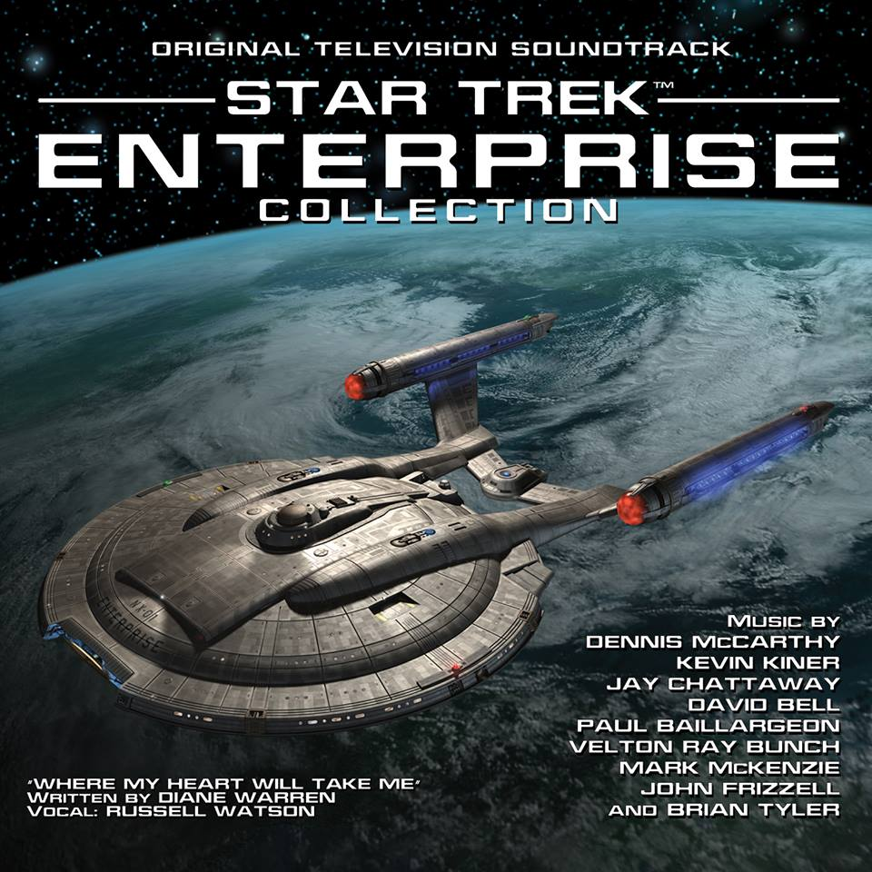 'Star Trek: Enterprise' Limited Edition Soundtrack cover art