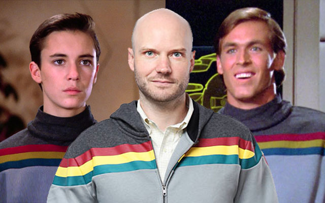 Wesley Crusher Uniform Hoodie From ThinkGeek