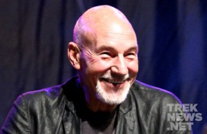 Patrick Stewart Honored, Talks Reprising Captain Picard Role