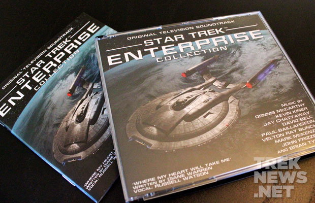 REVIEW: Star Trek: Enterprise 4-Disc Music Collection