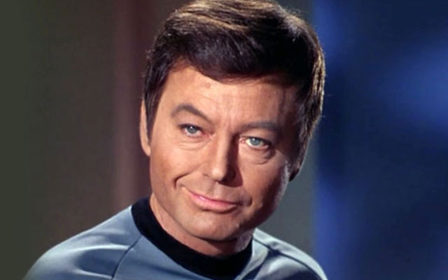 Remembering DeForest Kelley... On His 95th Birthday