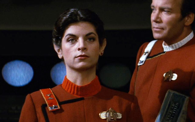 "Kirstie Alley Says She's ""Forever Grateful"" For Star Trek"