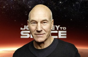 Patrick Stewart To Narrate 'Journey To Space'