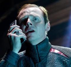 Simon Pegg to Co-Write STAR TREK 3