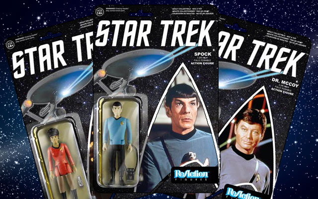 Retro-Style Star Trek Figures Coming This Spring From Funko