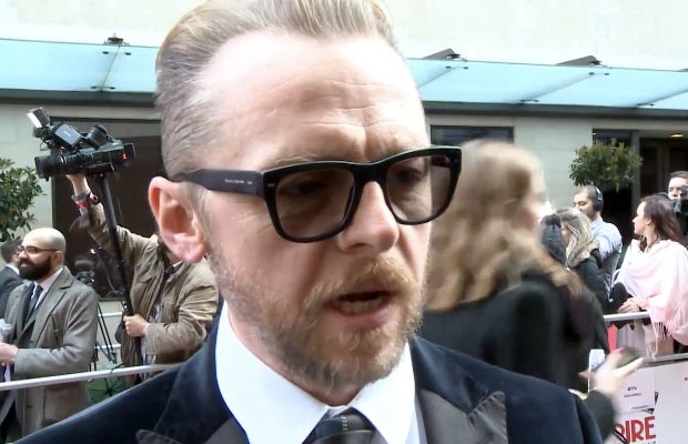 Simon Pegg Denies 'Star Trek 3' Rumor