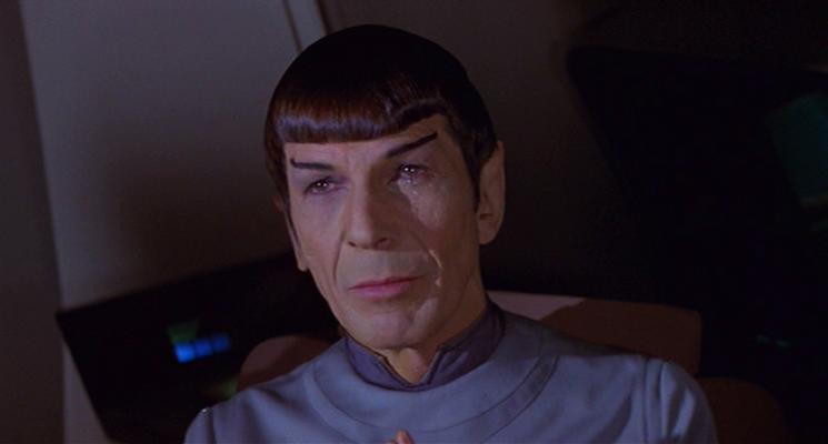 Spock crying for V'ge