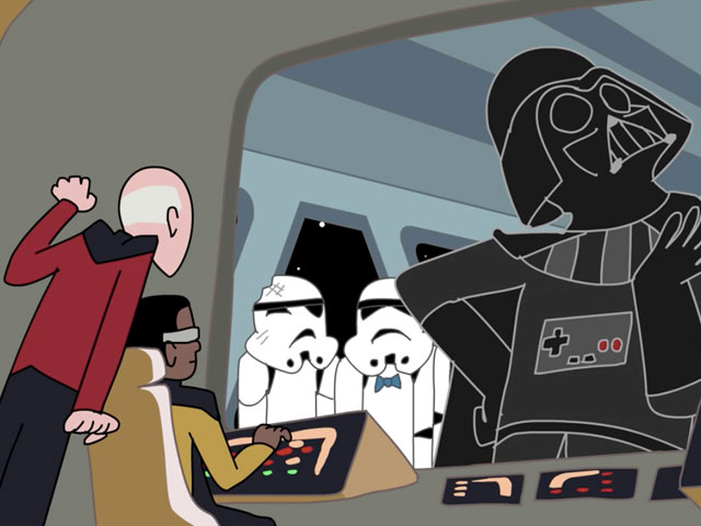 Which is Nerdier: Star Wars or Star Trek? [VIDEO]