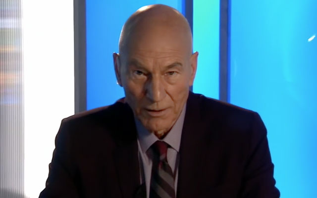 WATCH: Patrick Stewart In 'Blunt Talk' Trailer