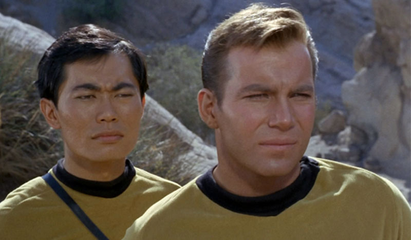 Takei and Shatner