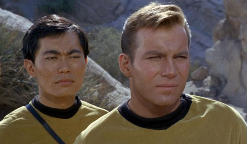 Takei and Shatner