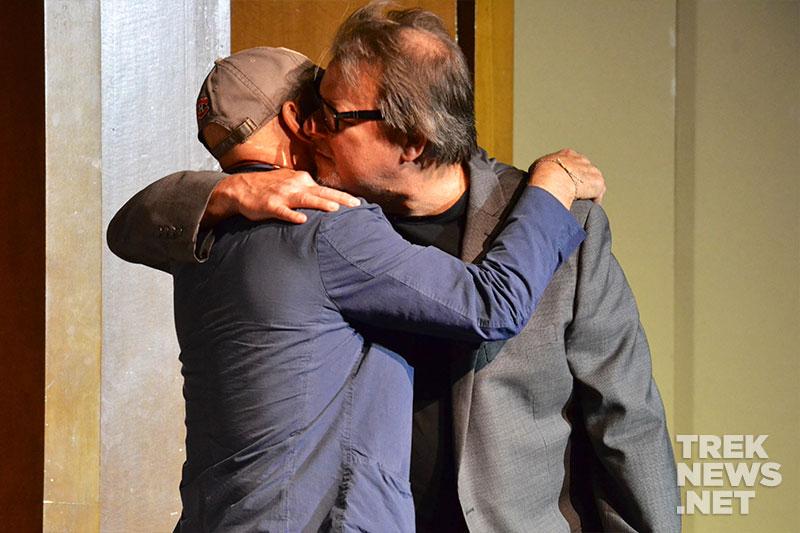 Patrick Stewart and Jonathan Frakes