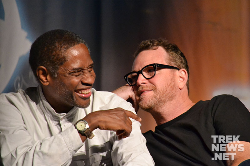 Tim Russ and Robert Duncan McNeill
