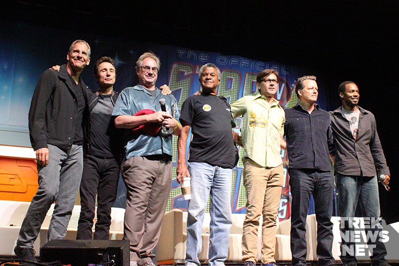 "The cast of ""Star Trek: Enterprise"" at STLV 2014"