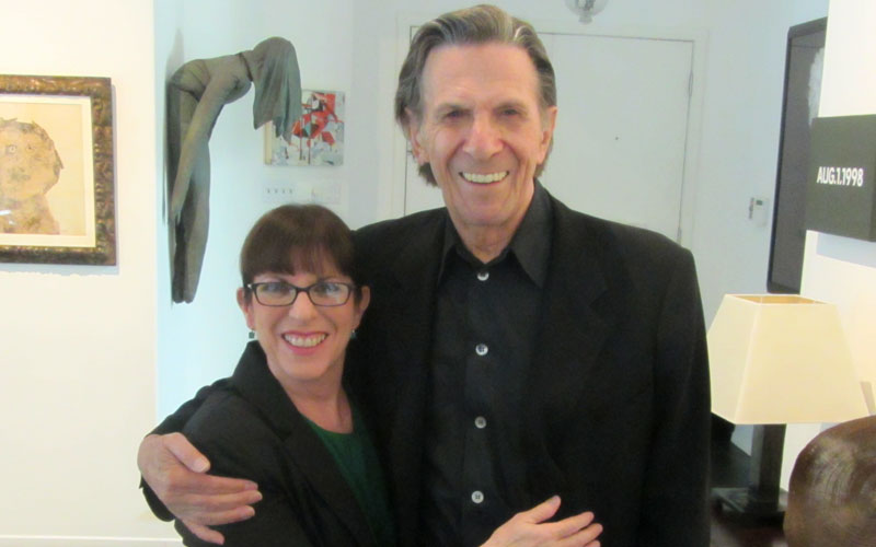 Leonard and Julie Nimoy