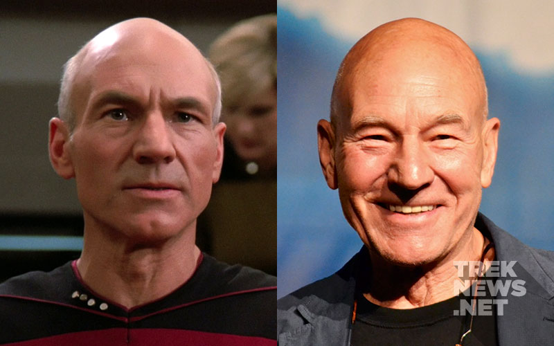 """Star Trek: The Next Generation"" Then and Now: Patrick Stewart"