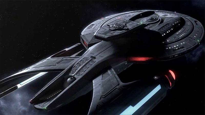 USS Titan, a Luna-class starship