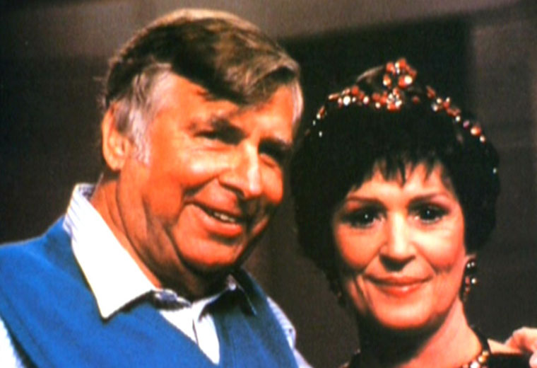 Gene and Majel Barrett-Roddenberry