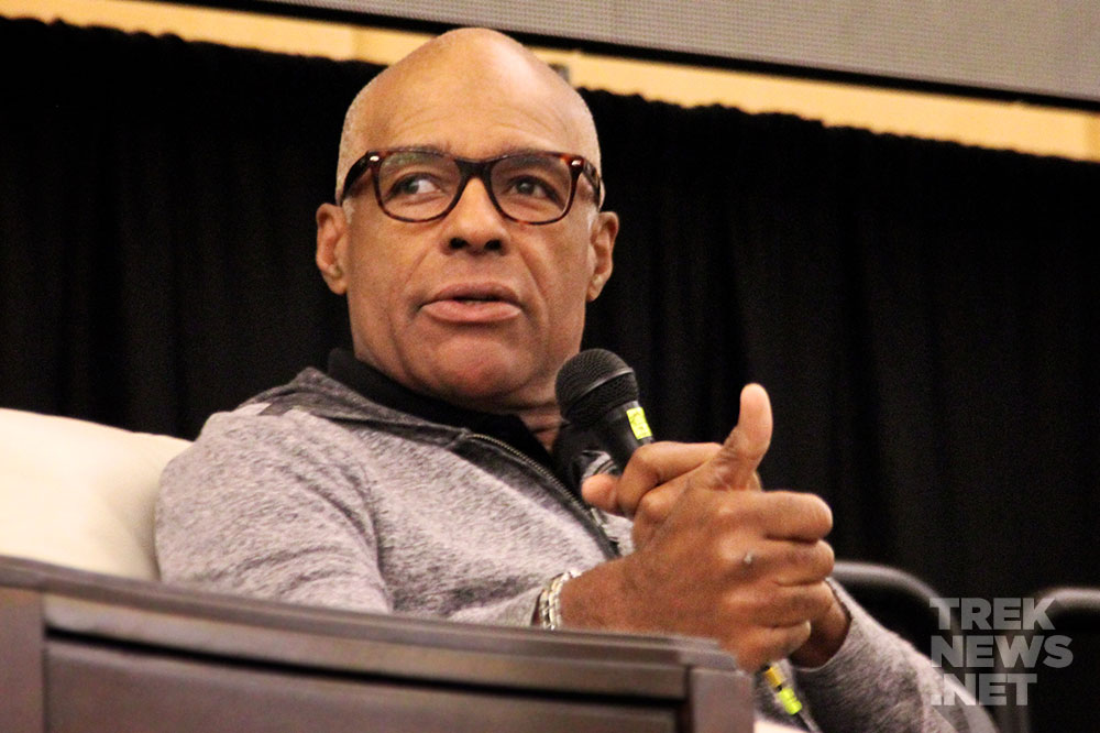 Michael Dorn at Rhode Island Comic-Con (photo: TrekNews.net)