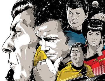 Star Trek 50th Anniversary Art Exhibit Debuting In July