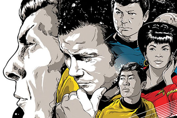Star Trek 50th Anniversary Art Exhibit Debuting In July