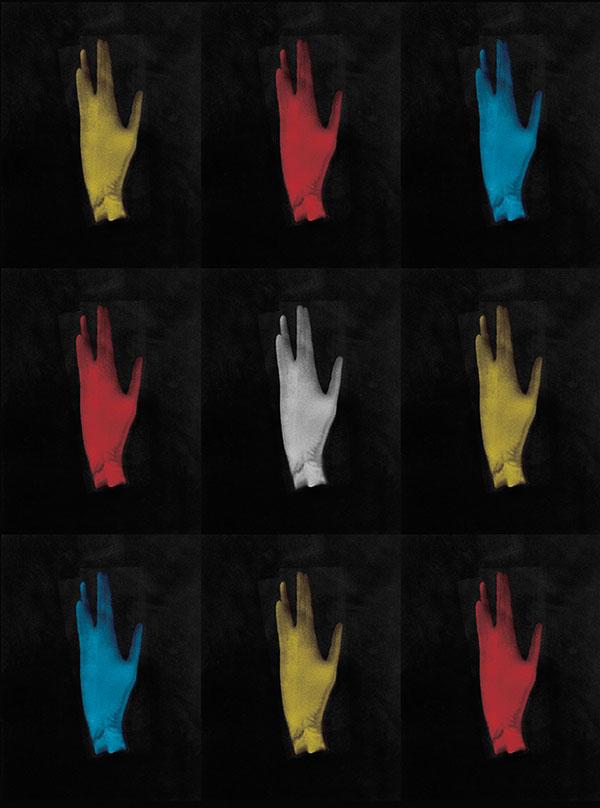 """""""Hand in Vulcan Gesture"""" by Leonard Nimoy"""