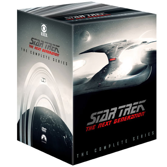 Star Trek: The Next Generation The Complete Series on DVD