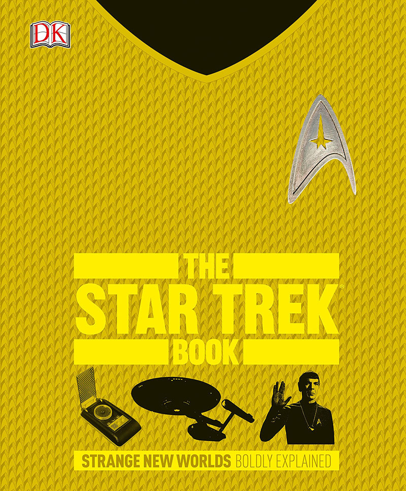 "Front cover of ""The Star Trek Book"""