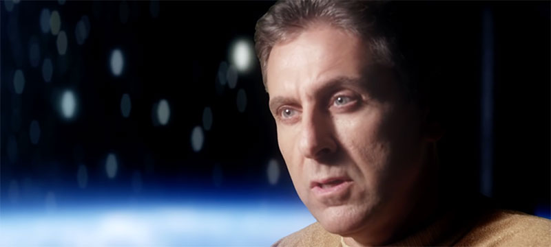 "Peters as Captain Garth in ""Prelude to Axanar"""