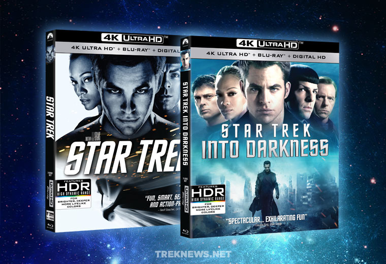 Star Trek (2009) and Star Trek Into Darkness coming to 4K UHD Blu-ray