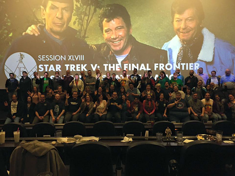 Star Trek V screening at the Alamo Drafthouse