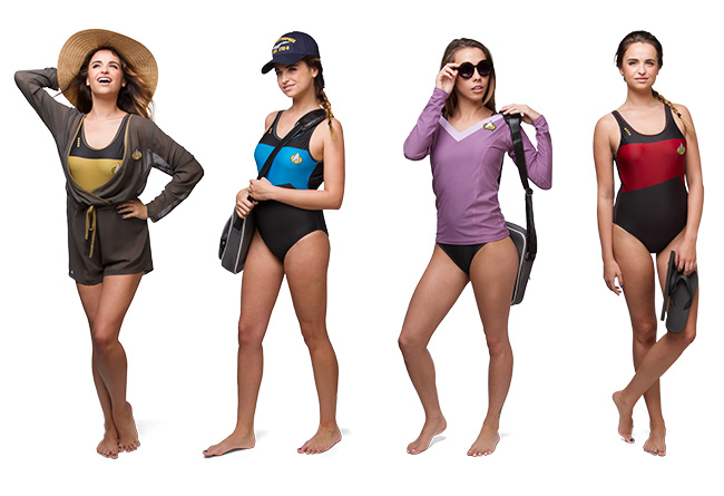 ThinkGeek's Trekini Swimwear